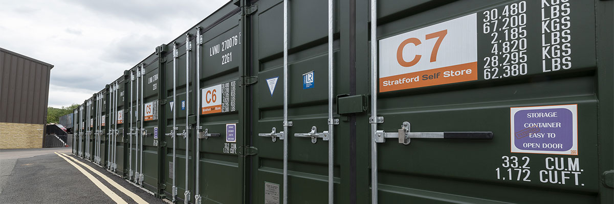 Commercial Container Storage